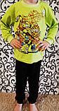Детская пижама из кулира ЧЕРЕПАШКИ НИНДЗЯ, фото 2