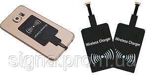 QI приемник беспроводной зарядки для телефонов с micro-USB