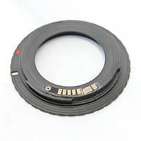 Адаптер переходник M42 - Canon EOS с чипом для Canon EF/EF-S