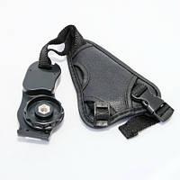 Ремень кистевой для фотоаппарата универсальный с фиксатором кисти руки (с защелкой)