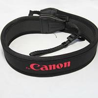 Ремень нашейный для Canon черный