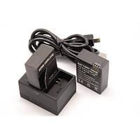 Зарядное устройство для GoPro 3, 3+ (2-х аккумуляторов)