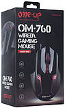 Мышь ONE-UP OM-760 Gaming mouse , фото 3