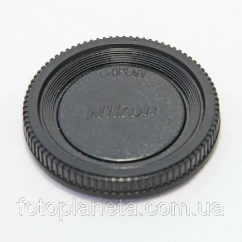 Крышка на байонет фотоаппарата Nikon F mount заглушка байонета