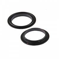 Реверсивное кольцо для макро съемки с байонетом Canon 72 мм