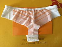 Трусик-бразилиана лазерка белые, Coeur Joie 9986