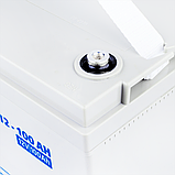 Аккумулятор мультигелевый AGM LogicPower LPM-MG 12 - 100 AH, фото 3