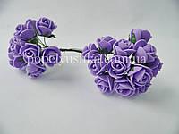 Троянди латексові фіолетові 1,5 см