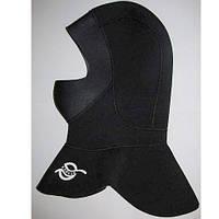 Капюшон шлем неопреновый для дайвинга и подводной охоты 3 мм