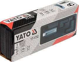 Набор головок для лямбда зонда YATO YT-1752, фото 3