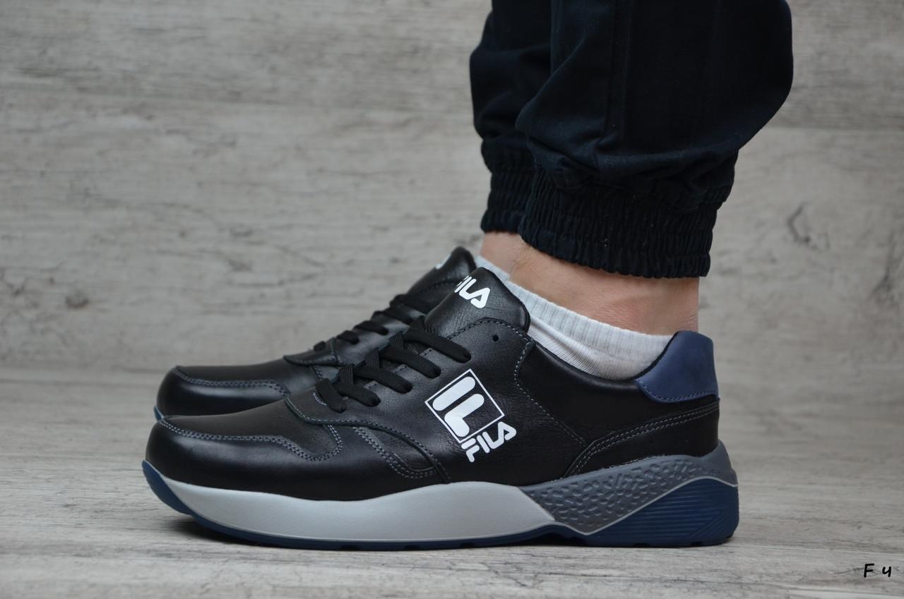 Мужские кожаные кроссовки Fila (Реплика) Размеры ► [41,43,44]