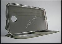 Черный кожаный чехол-книжка для смартфона Motorola Nexus 6  XT1100 XT1103, фото 1