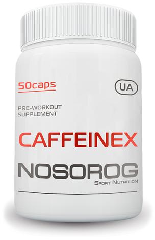 NOSOROG Nutrition Caffeinex 50 caps, фото 2