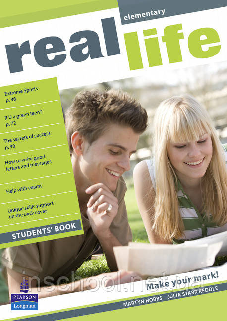 Real Life Elementary Students' Book ISBN: 9781405897044