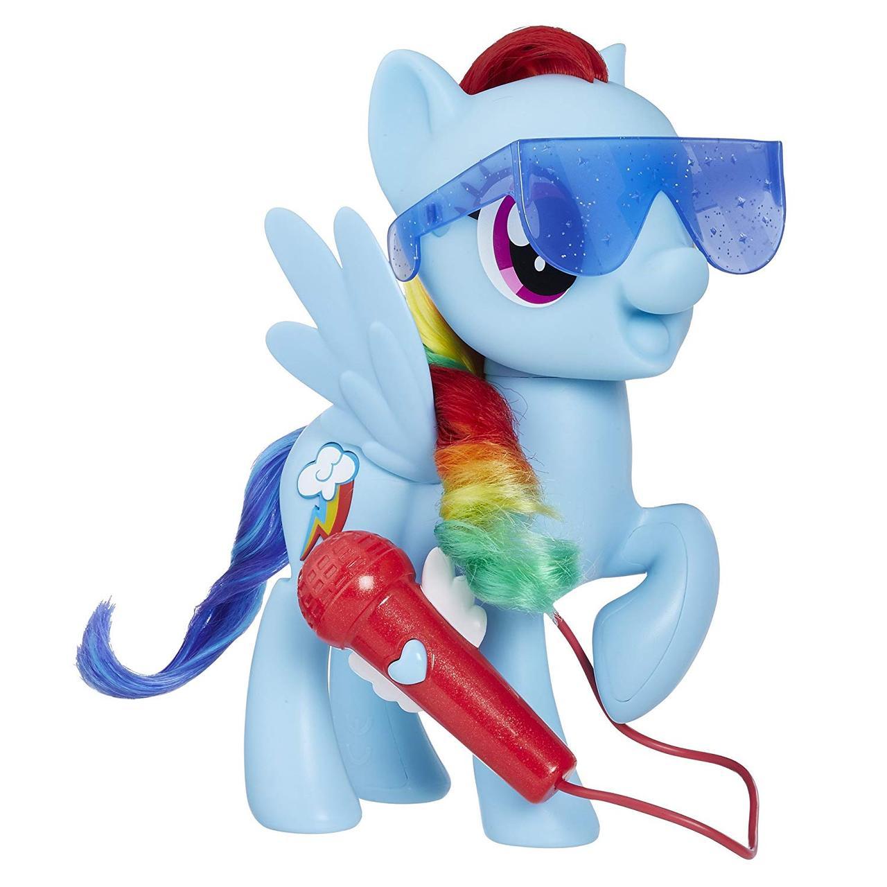 интерактивная поющая пони радуга рейнбоу деш My Little Pony