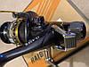 Катушка карповая HIBOY J-40 FR С БАЙТРАНЕРОМ 9+1 подшипников как Sadei J3FR-40, фото 3