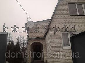 Декоративный фриз для забора с установкой, фото 3