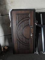 Двері вхідні САМ з патиною