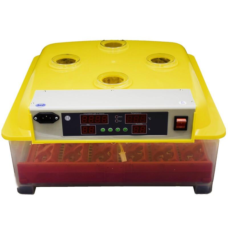 Інкубатор інверторного типу з автоповоротом яєць MS-36/144