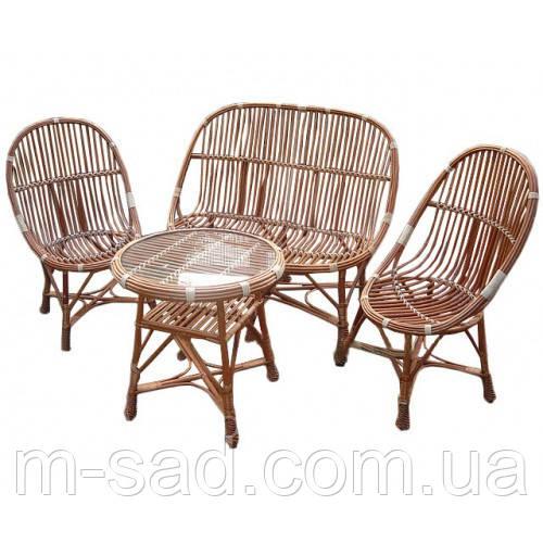 Комплект плетеной мебели Модерн