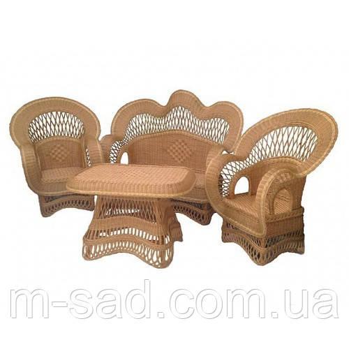 Набор плетеной мебели Шик