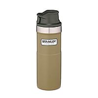 Термокружка Stanley Classic Trigger-action 470 мл Olive drab, фото 1