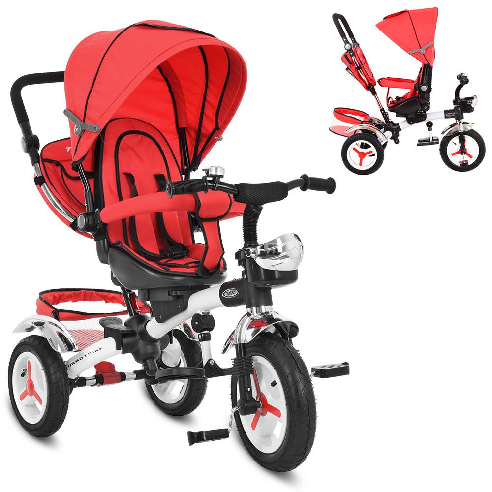 Велосипед трёхколёсный M 3200A-3 красный