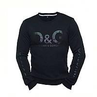 8b93c40cf245 Свитшот мужской DOLCE & GABBANA черный ( реплика ) Брендовая мужская одежда  Турция