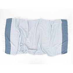Рушник Irya - Alaz mavi блакитний 90*170