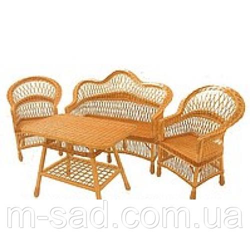 """Плетеная мебель из лозы """"Классик"""". Мебель для дачи"""