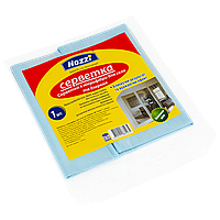 Салфетка микрофибра для стекла 350 мм * 350 мм