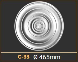 Розетка стельова С33 (465мм.)