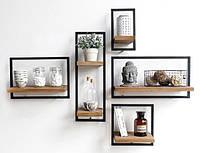 Комплект настеных полок SHELF IDEA - 24, фото 1