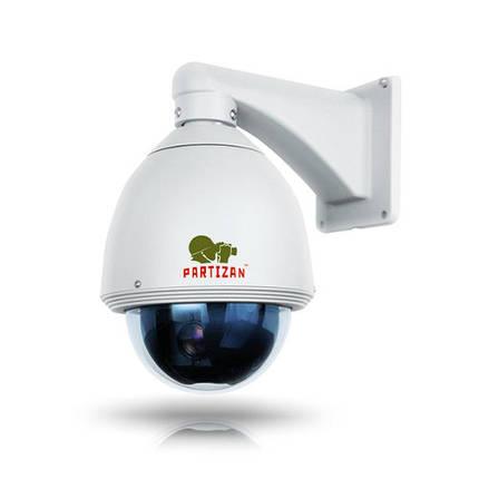 "IP роботизована відеокамера Partizan IPS-220X.  2MP, 1/2.7"" Full HD Sony, f=4.7-94мм, 0,1л, SD, фото 2"