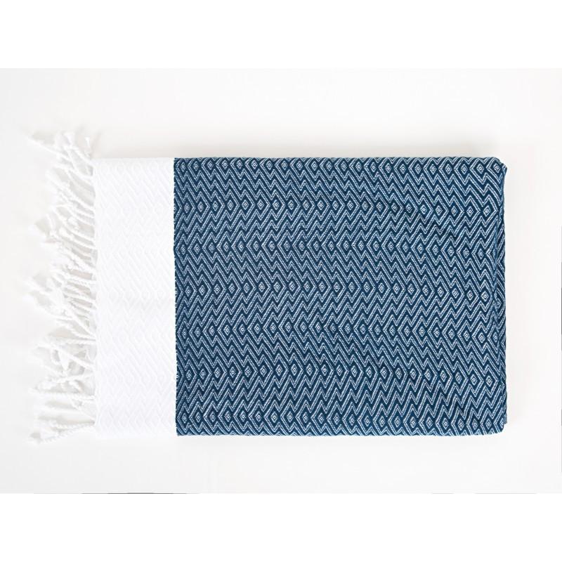 Полотенце Irya - Dila mavi голубой 90*170