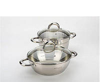 Набор посуды ( Кастрюля+сотейник ) 4 предмета MAYER&BOCH MB 20835