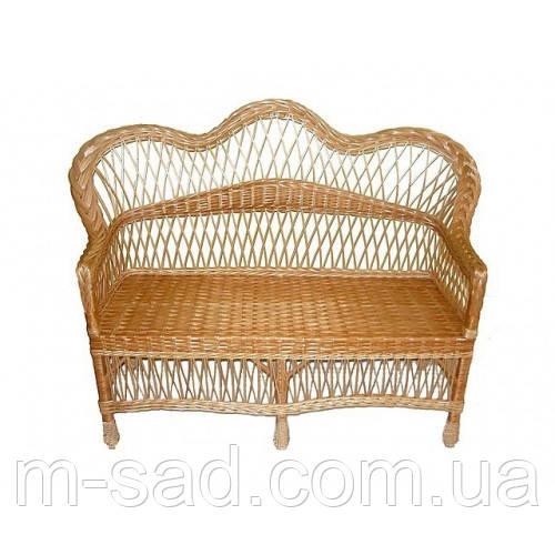 Плетеный диван из лозы Комфорт