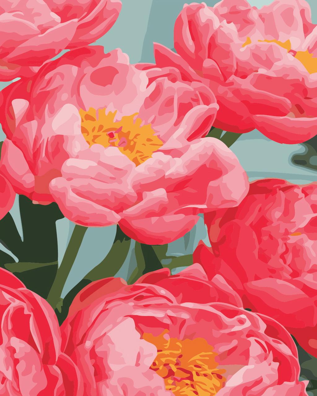 Художественный творческий набор, картина по номерам Ароматные пионы, 40x50 см, «Art Story» (AS0346)