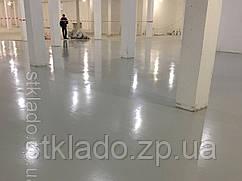 Полімерний підлогу, шліфування підлоги