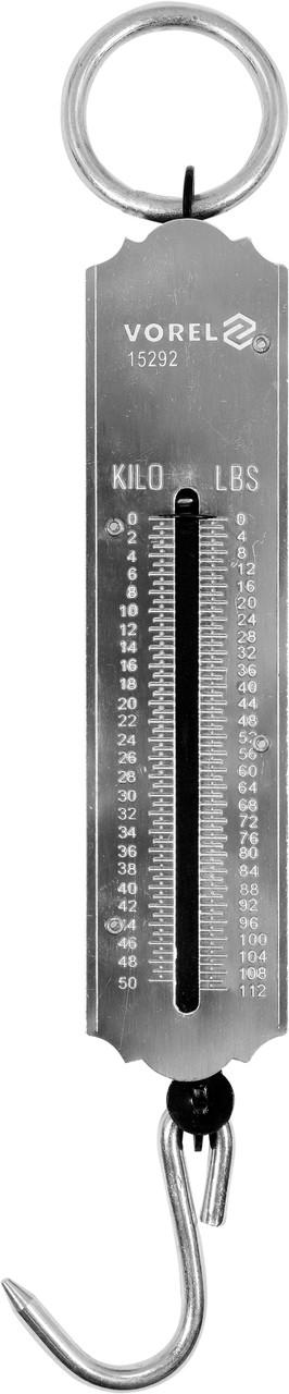 Весы ручные, подвесные, пружинные 50 кг - VOREL