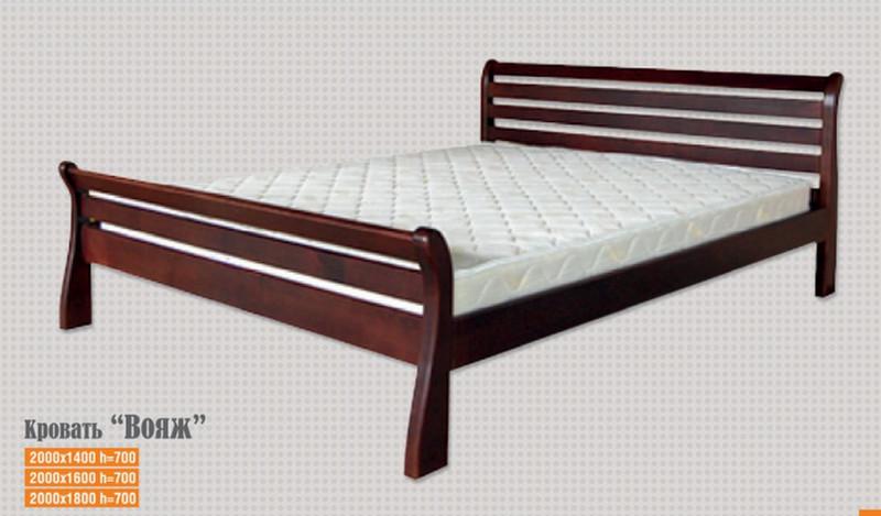 Кровать Вояж 1,4 м.(цвет в ассортименте)