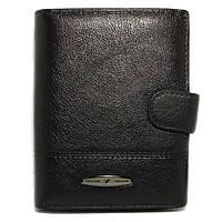 Мужское кожаное портмоне-документница Tailian T265D-12H09-B black с отделением для паспорта, фото 1