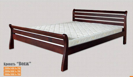 Кровать Вояж 1,6 м.(цвет в ассортименте), фото 2