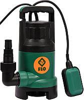 Насос для грязной воды FLO сетевой, 1100Вт, 14000 л / ч, макс.висота- 15,5 м - VOREL