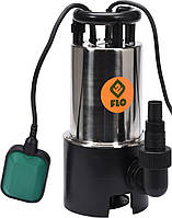 Насос для грязной воды FLO сетевой, 900Вт, 16000 л ч, максвисота- 15,5 м, корпус из нерж стали - VOREL, фото 1