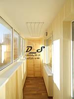 Внутренняя отделка балконов и лоджий. Днепропетровск