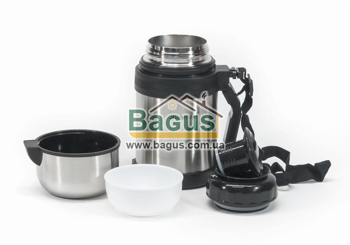 Термос пищевой 800мл с колбой из нержавеющей стали (1 отделение) Kamille KM-2122
