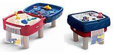 Песочница стол 2 в 1 Играем и рисуем Little Tikes 451T, фото 2