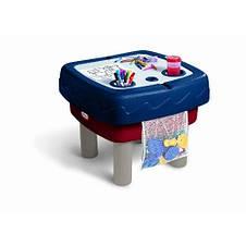 Песочница стол 2 в 1 Играем и рисуем Little Tikes 451T, фото 3