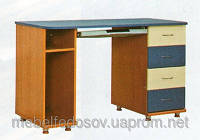 Стол компьютерный Геометрия СК-492 (БМФ) 1200х590х830мм